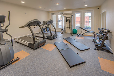 Willow Housing - Gym Room